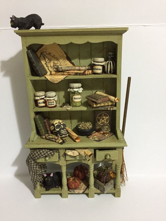 Th Scale Witches Dresser Spooky Potions Spells