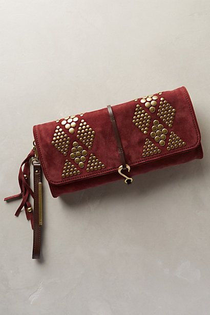 Koli Suede Wristlet-Clutch - anthropologie.com