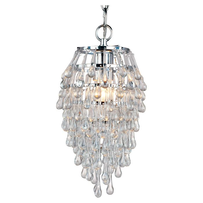 Teardrop Mini Chandelier This Would Be So Cute In The Dressing