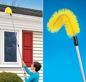 Gutter Brush Harriet Carter Gutter Cleaning Gutters Gutters