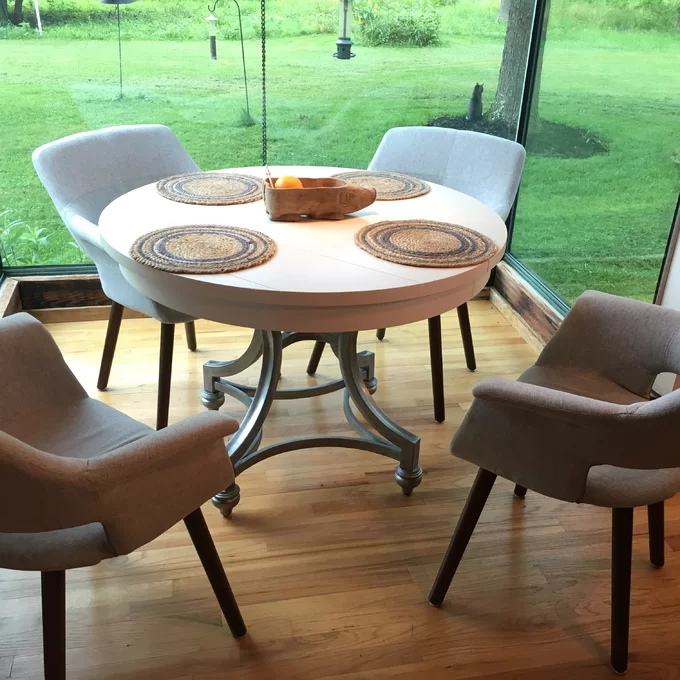 Lark Manor Saguenay Extendable Dining Table Reviews Wayfair