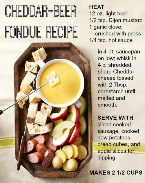 How to: Fondue Date Night! #fonduerecipes