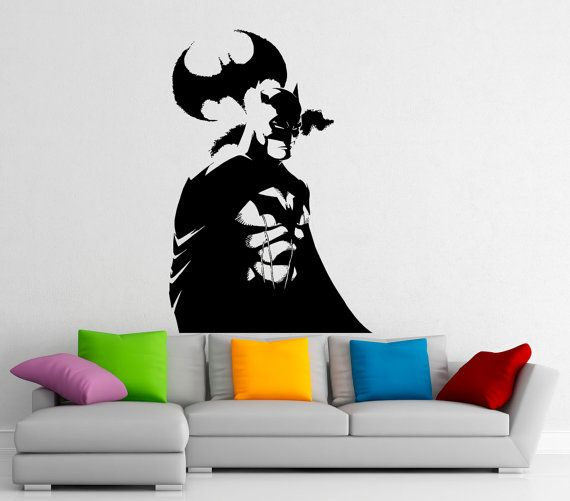Batman Superhero Wall Decal Vinyl Stickers Comics By BestDecalsUSA