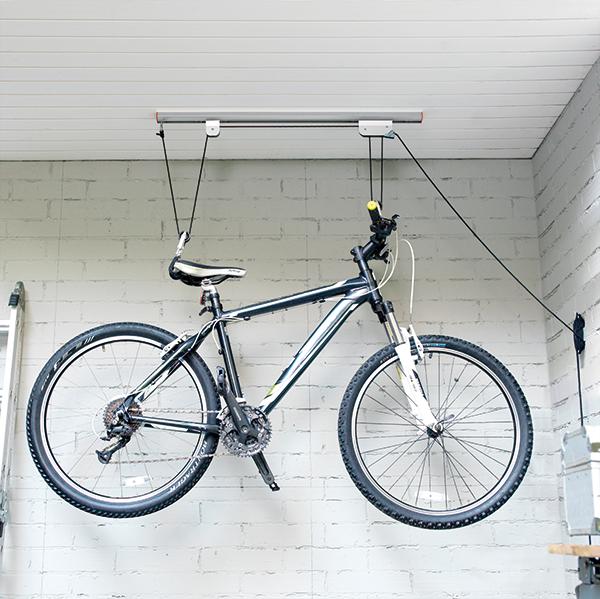 Generico Organizador De Bicicleta Techo Aluminio Decoracion - Colgar-bici-techo