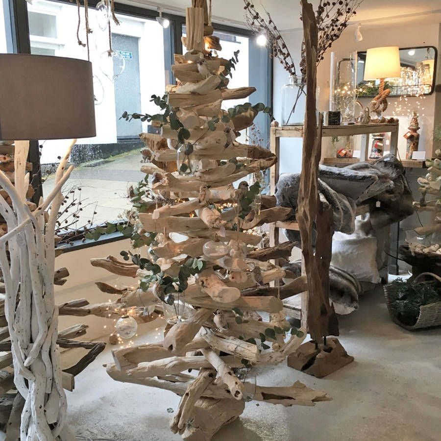 Driftwood Christmas Tree Bleached