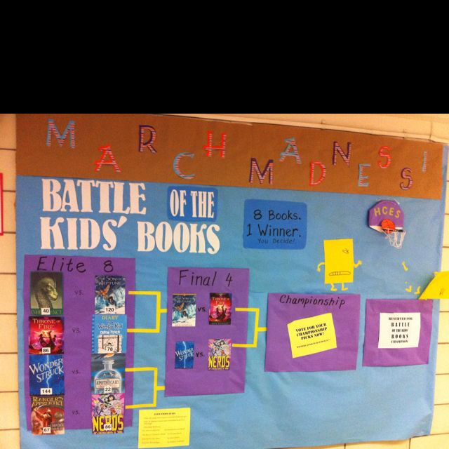 Battle of the kids' books for March Madness!