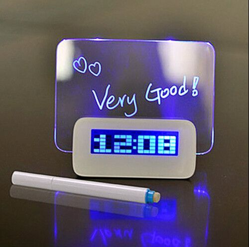 Can Graffiti USB Valentine birthday gift Clock