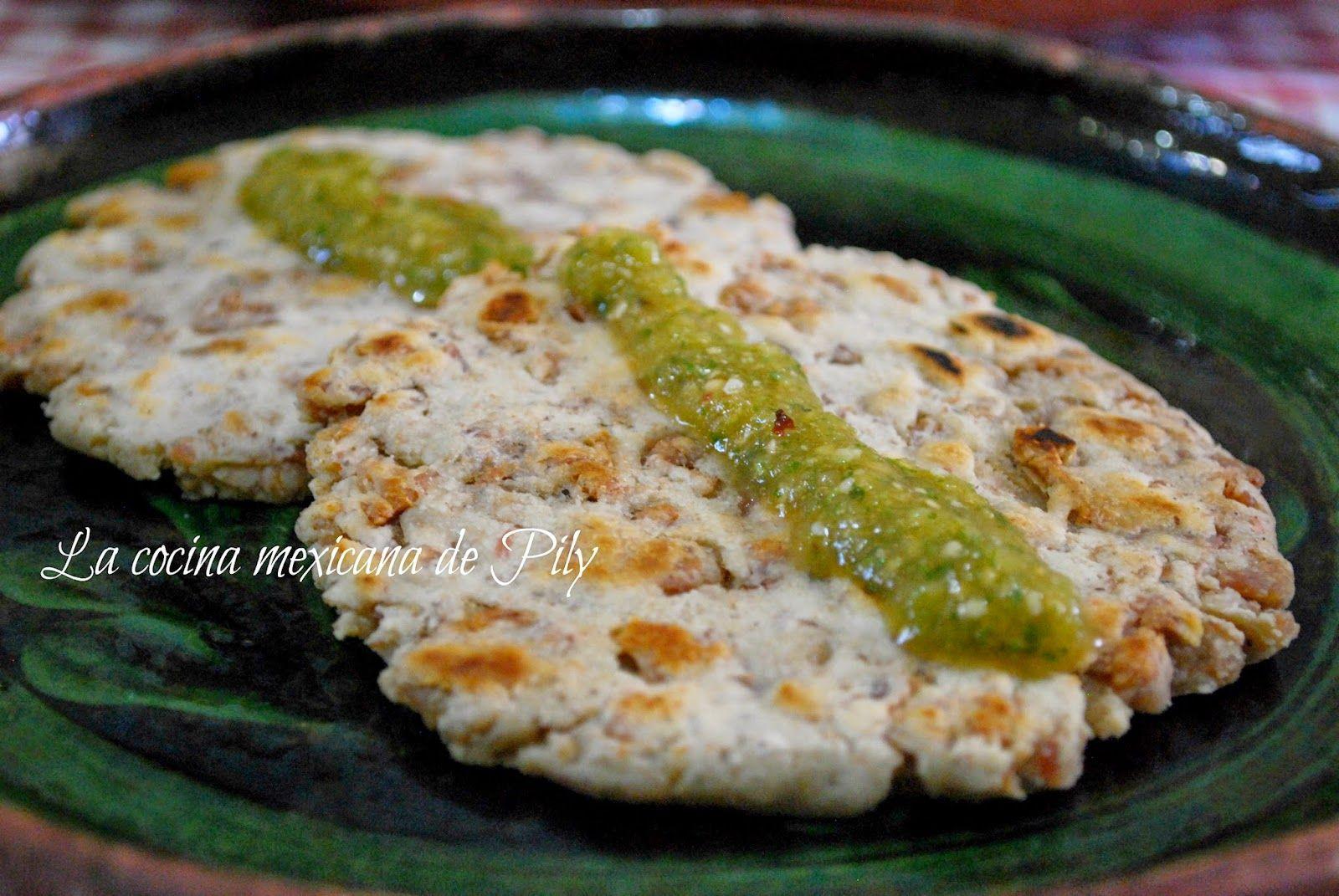 La cocina mexicana de Pily: Gorditas de chicharrón prensado