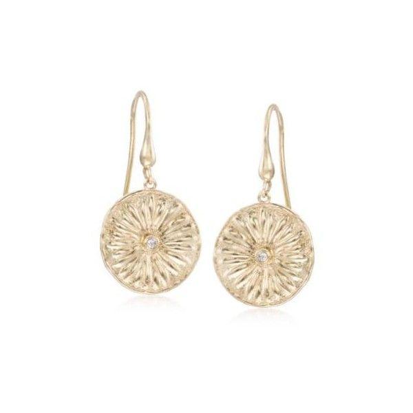 Simons Floral disc earrings 7cn0H
