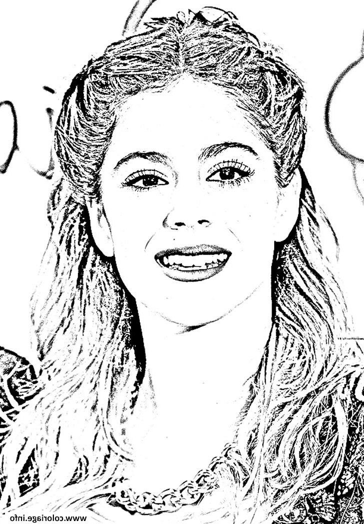 violetta sourire coloriage #coloriagesde | Coloring pages, Coloring pages to print, Color