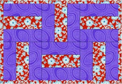 Rail Fence (free mug rug pattern)  Quilting Tutorials: Mug Rug Monday -  So simple. So many possibilities 1 1/2 inch wide strips, 25 inches long.