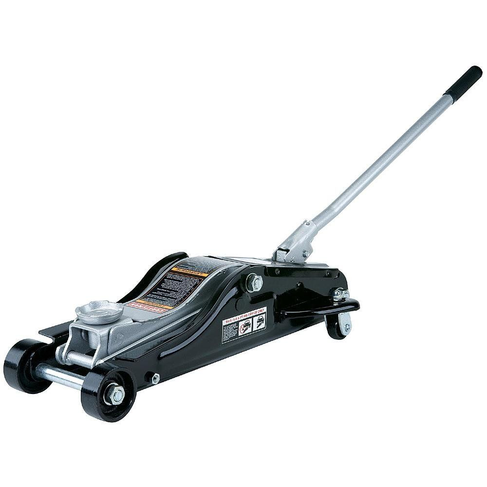 Floor Jack New Craftsman 2 1 2 2 5 Ton Low Profile Lift Heavy Vehicles Car Jack Rapid Pump Show Car Lowrider Extra Wide Steel Car Jack Lifted Cars Jack Stands
