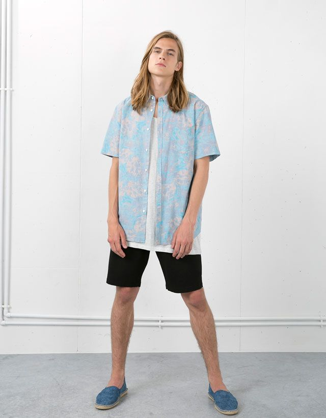 Shirts - Man SALE - Man - Bershka Belgium