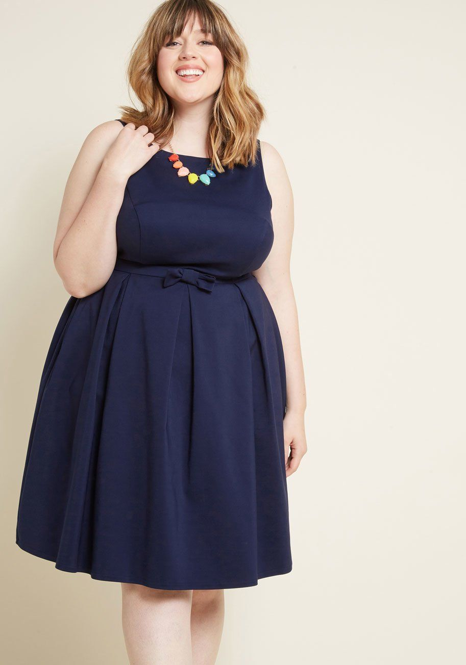 Polish Aplenty Fit and Flare Dress in 2019 | Plus size ...