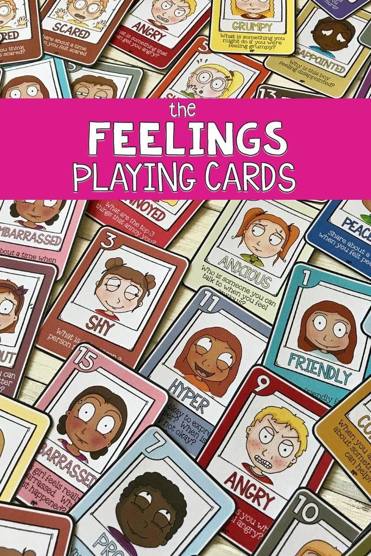 Feeling card games emotion identification empathy