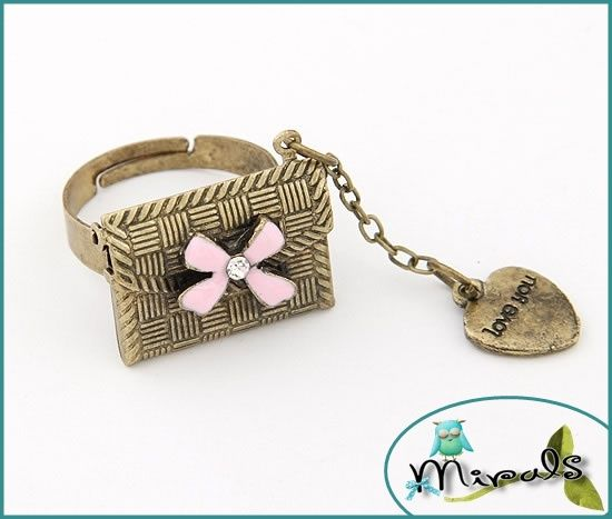Pierscionek Otwierana Koperta List Vintage 2385386148 Oficjalne Archiwum Allegro Alex And Ani Charm Bracelet Alex And Ani Charms Charm Bracelet