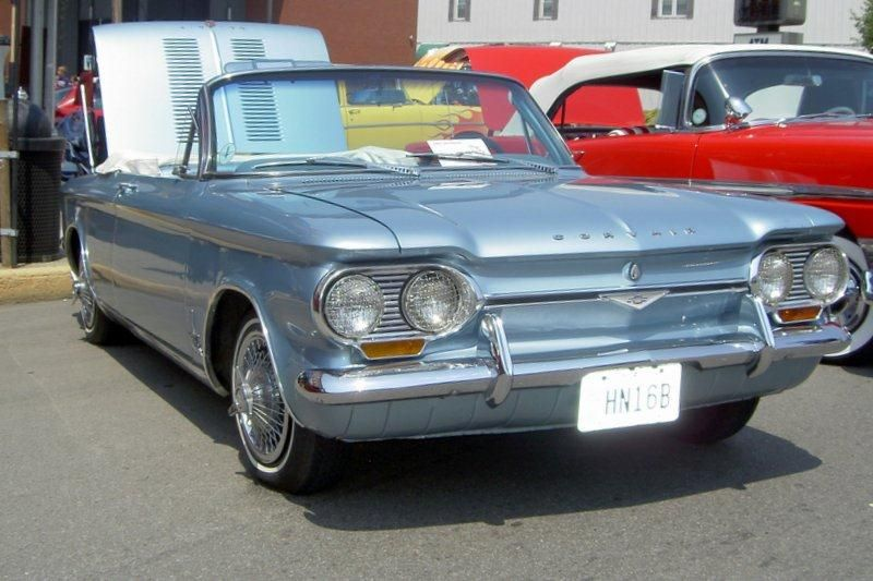 1961 Corvair Sebring Spyder And 1962 Super Spyder – The First Of ...