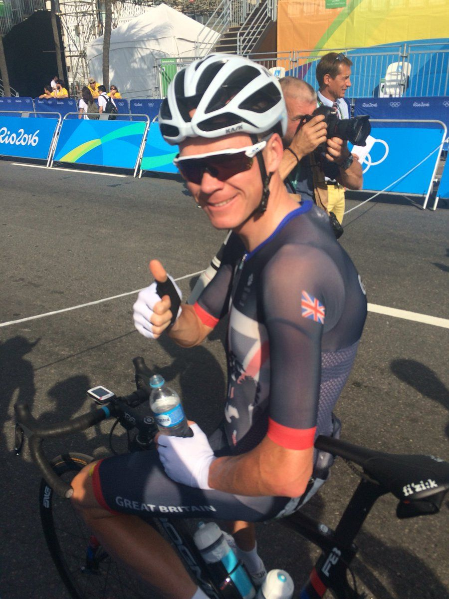 Froomey is ready to go! | Twitter