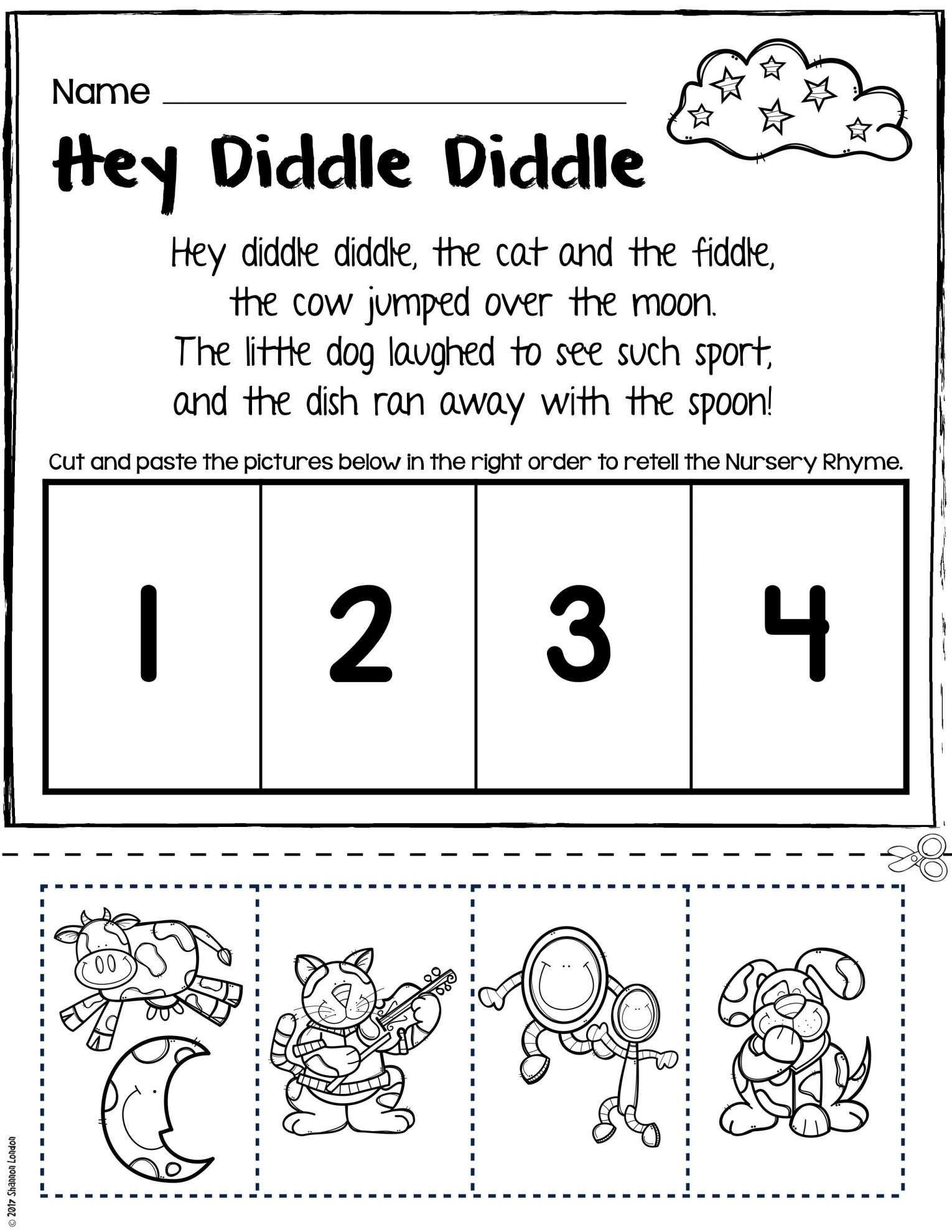 9 Retelling Worksheet For Kindergarten