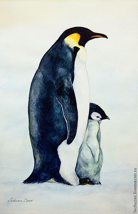 Эко-поделка на тему «Арктика и Антарктика»