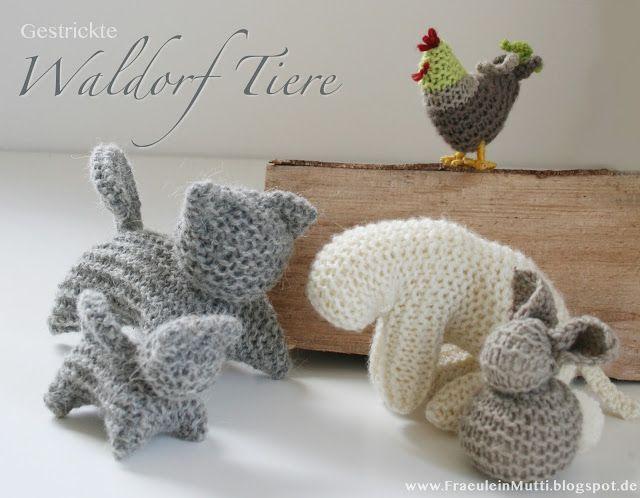 Photo of FräuleinMutti: Waldorf animals knit