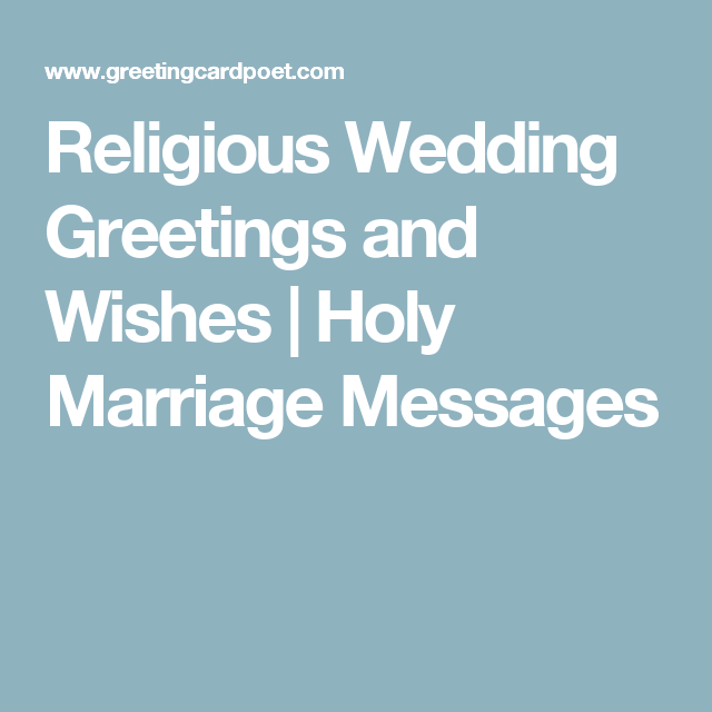 marriage messages religious wedding greetings