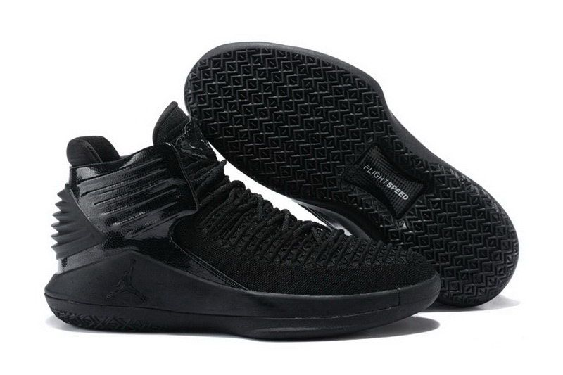 newest collection 6b578 0549e Men Womens Cheap Air Jordan XXXII 32 All Black - http   www.
