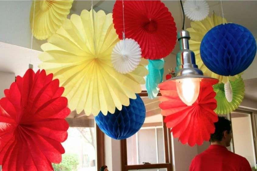 Decorazioni Fai Da Te Per Feste : Decorazioni fai da te per il compleanno addobbi colorati fai