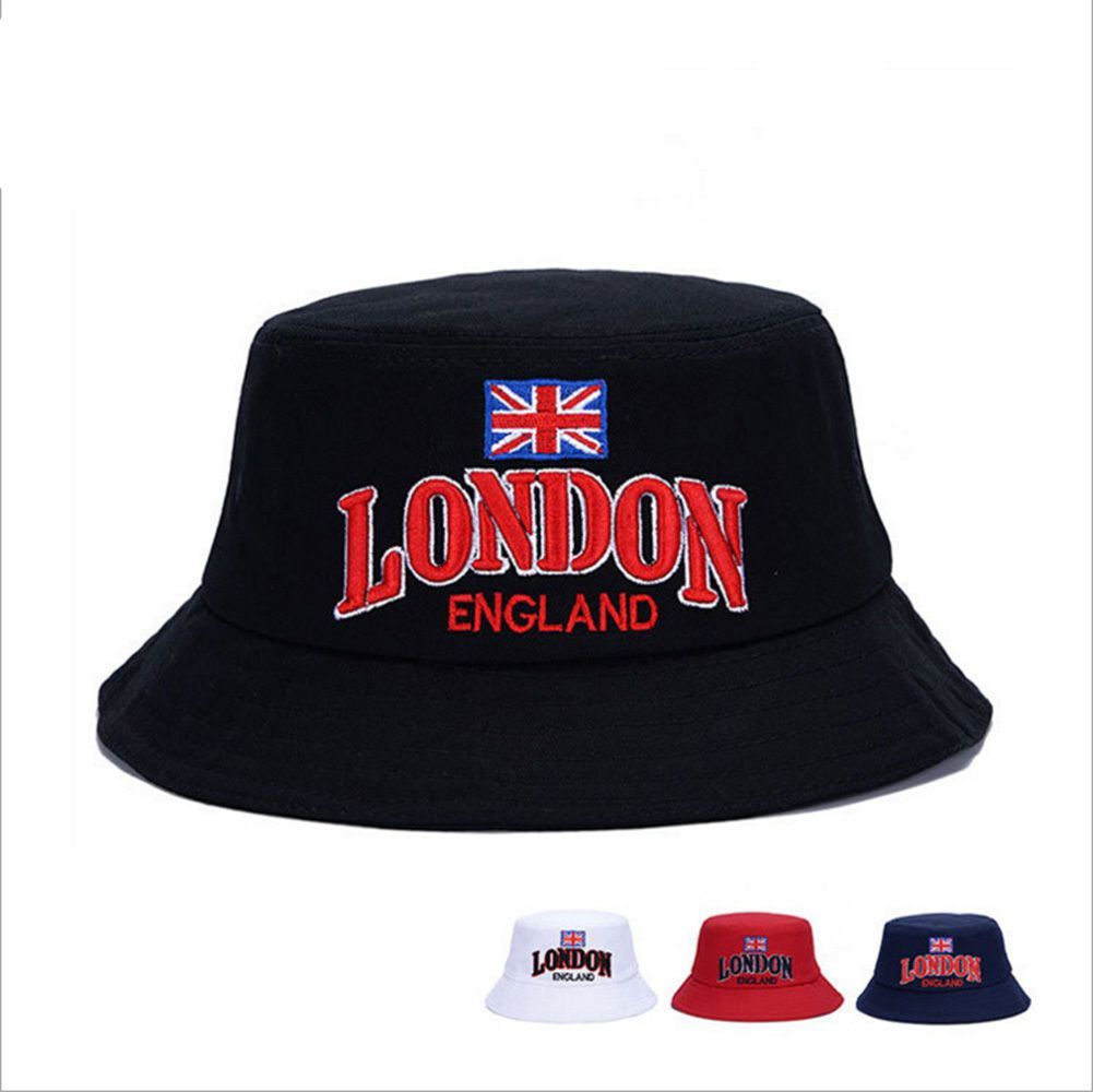 Uk Flag Hunting Hat Military Cap Boonie Outdoor Wide Brim Bucket Unisex  Fishing 1dc4b835cff8