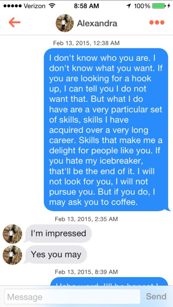 12 People who Sent Perfect Tinder Texts  | funnies | Tinder