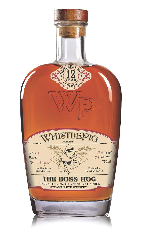 Whistlepig The Boss Hog Whiskey | bottledesign #whiskey #packaging