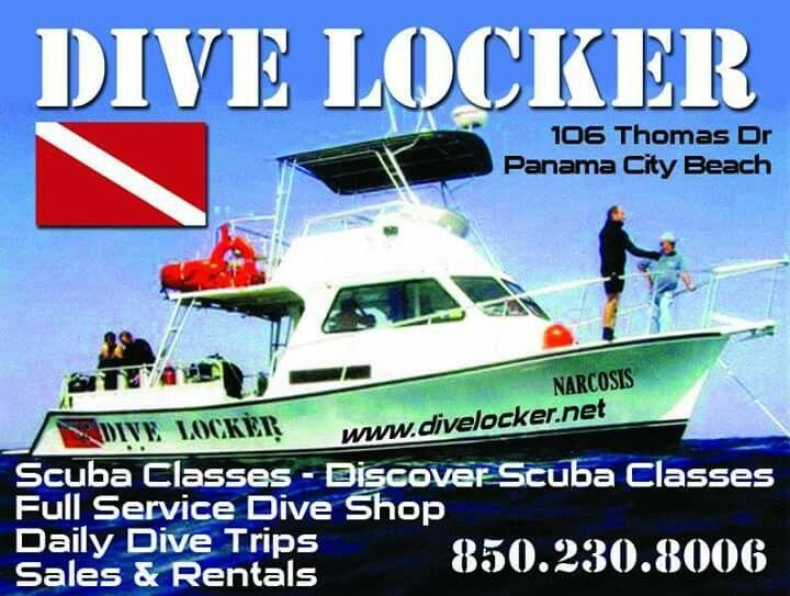 Dive Locker In Panama City Beach Fl