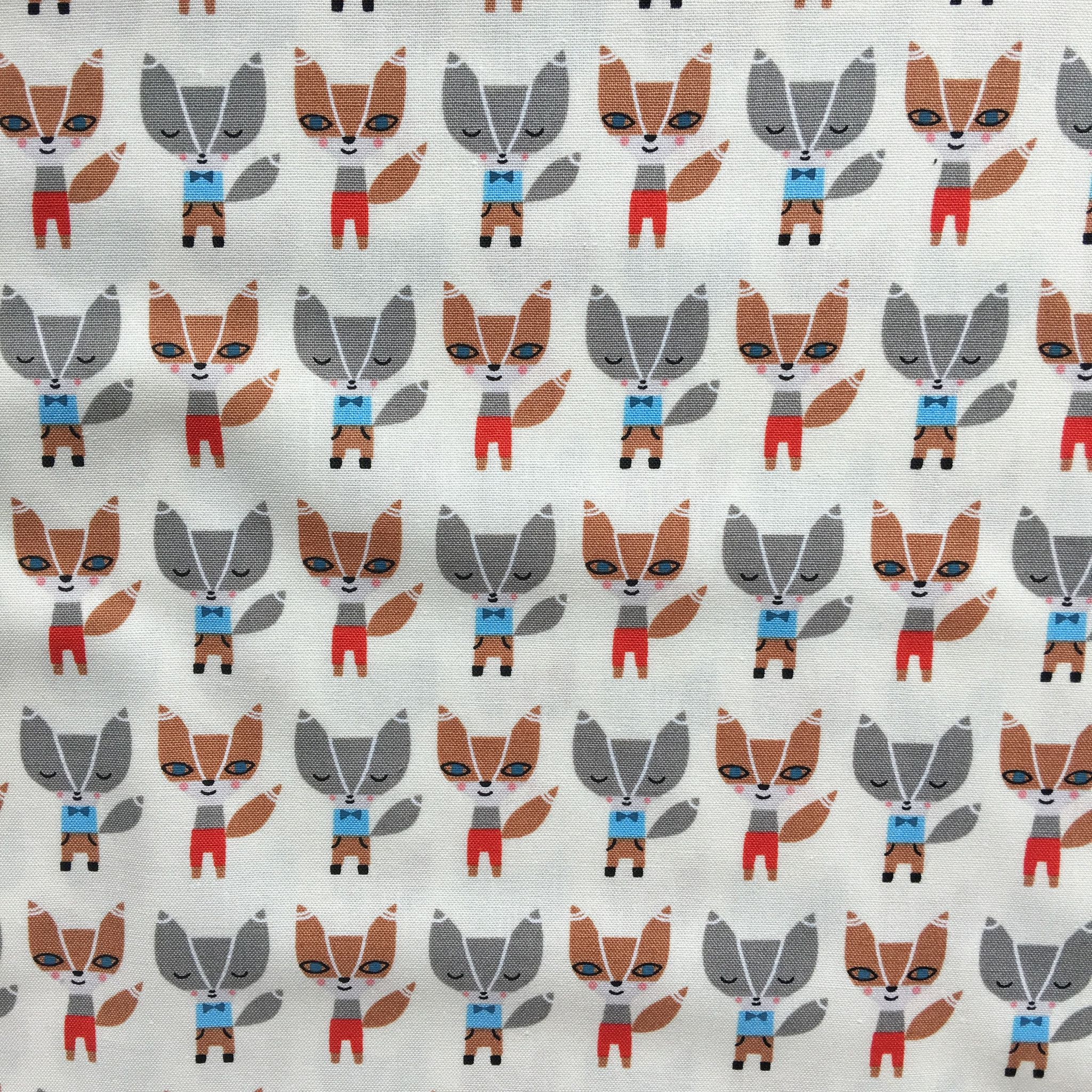 Mini Foxes in Natural - Suzy Ultman – Fridays Off