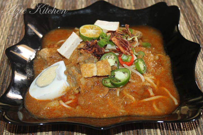 Azie Kitchen Mee Rebus Johor Untuk Cik Ana Dan Cik Rina