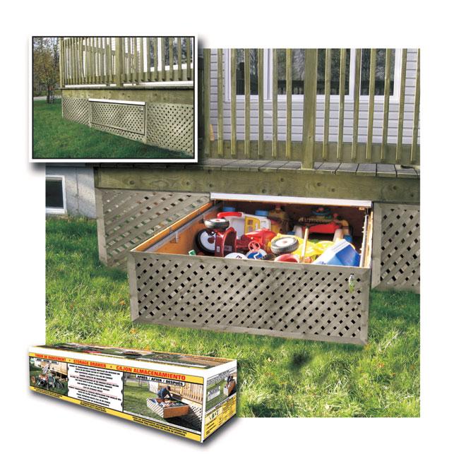 Adjule Under Deck Drawer Rona In 2019 Outdoor Toy