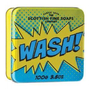 Scottish Fine Soaps Wash Pop Art Tin