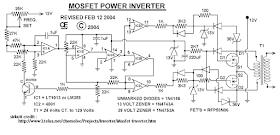 Skema Rangkaian Inverter 1000 Watt Masputz Com Rangkaian Elektronik Teknologi Gadget Teknik Listrik