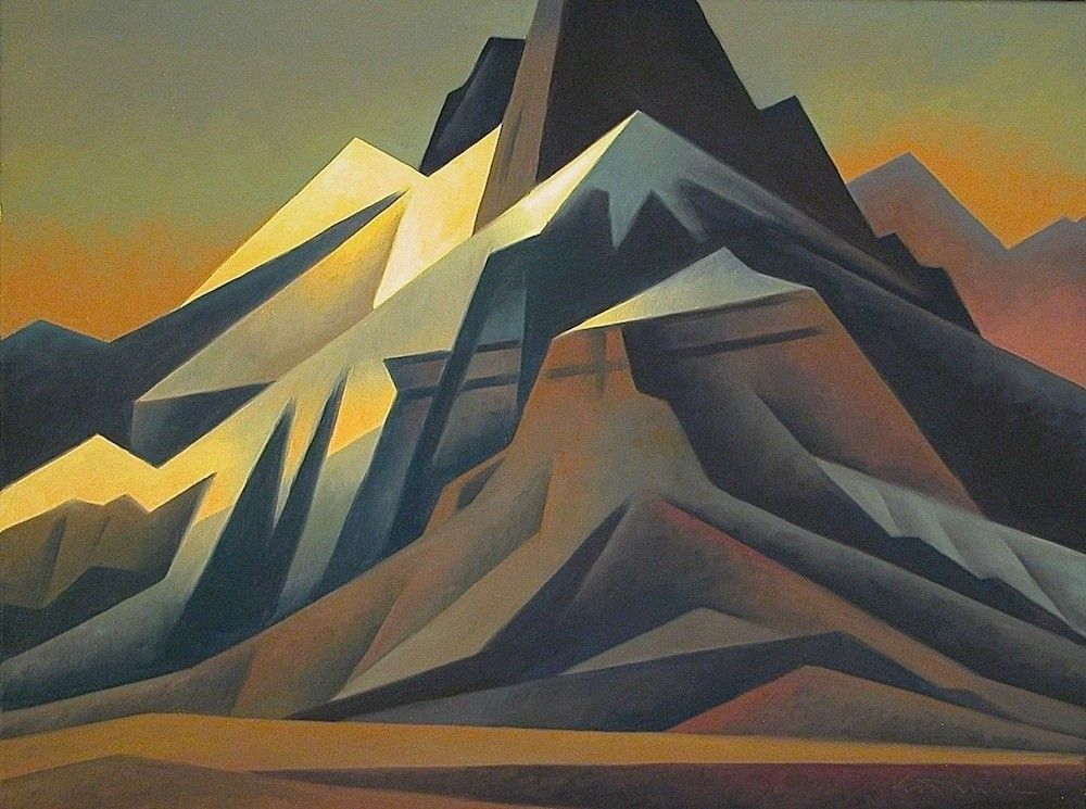 Ed Mell, Mountain Pinnacle. Oil, 18 x 24 inches | Beauty: Hills ...