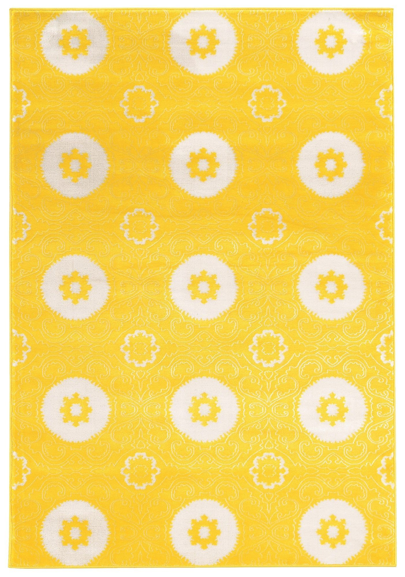 Lucinda Yellow Area Rug