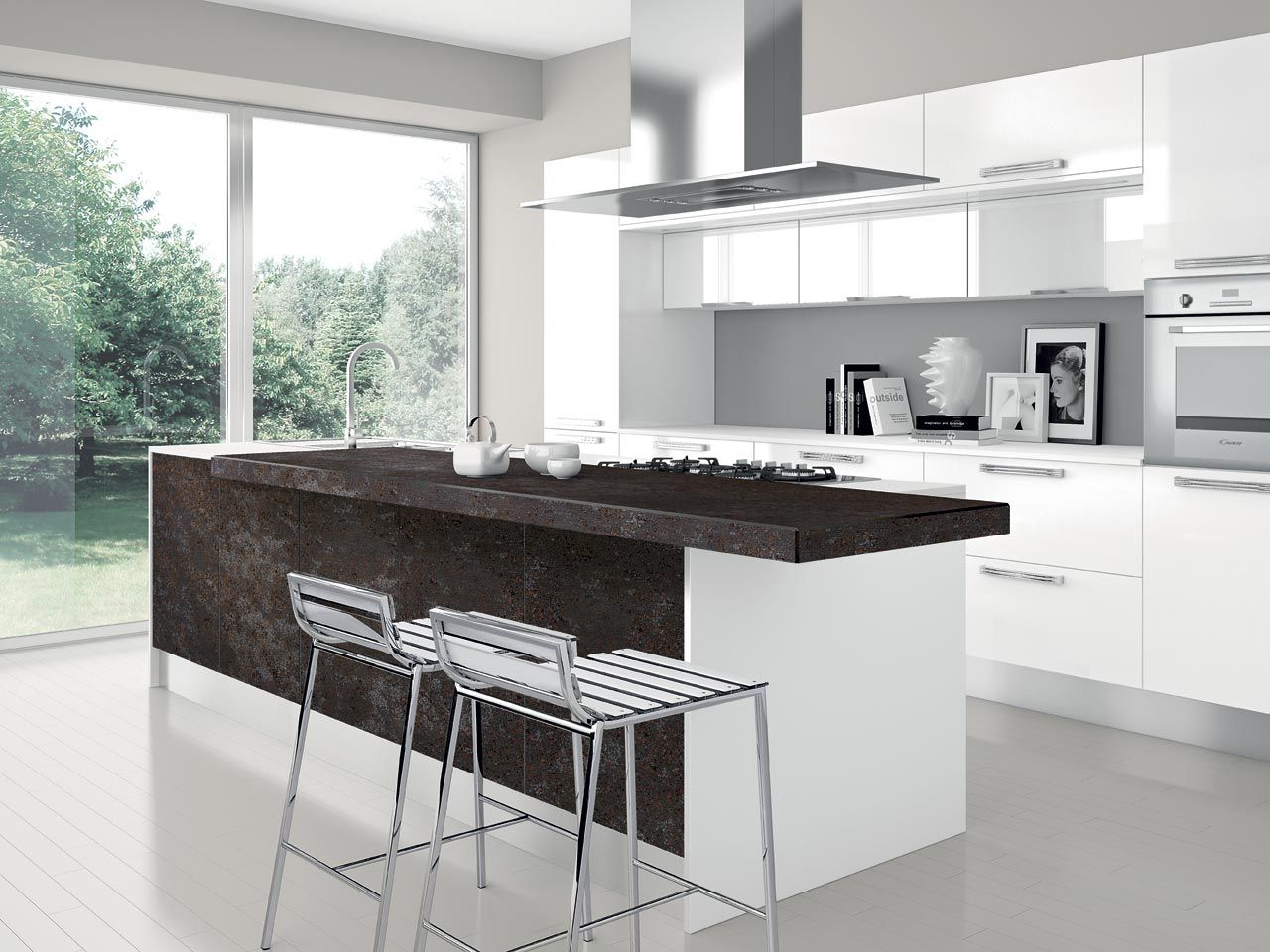 Cucine Moderne Con Isola Lube.Nilde Gres Kitchens Cucine Lube Kitchen Designs