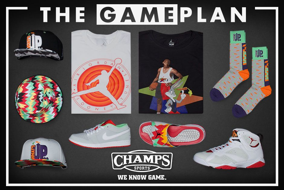 978b62743 The Game Plan by Champs Sports Presents the Jordan Hare Collection ...