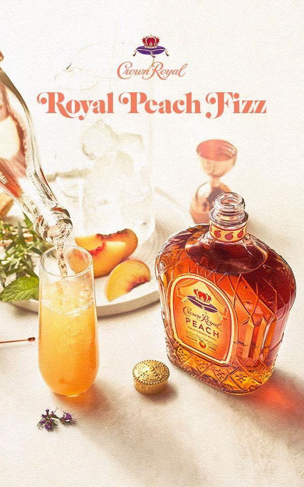 Crown Royal Peach Fizz images