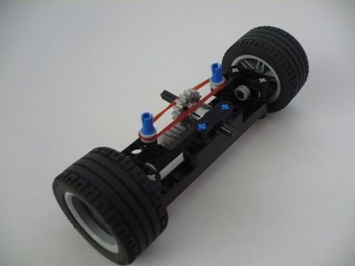 Return To Center Steering Wheel System With Building Instructions A