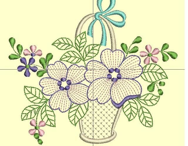 Dibujos De Ramos De Flores Para Bordar. Simple Dibujos Y Plantillas ...