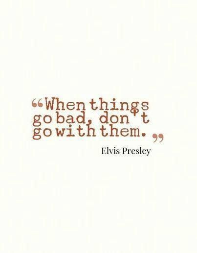 When things go bad