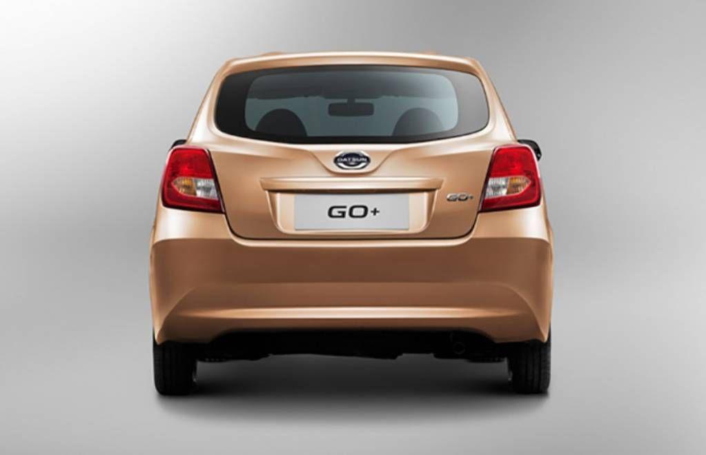Datsun GO+ MPV - Rear