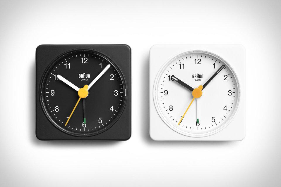 Braun Travel Alarm Clock In 2020 Braun Alarm Clock Clock Braun Clock