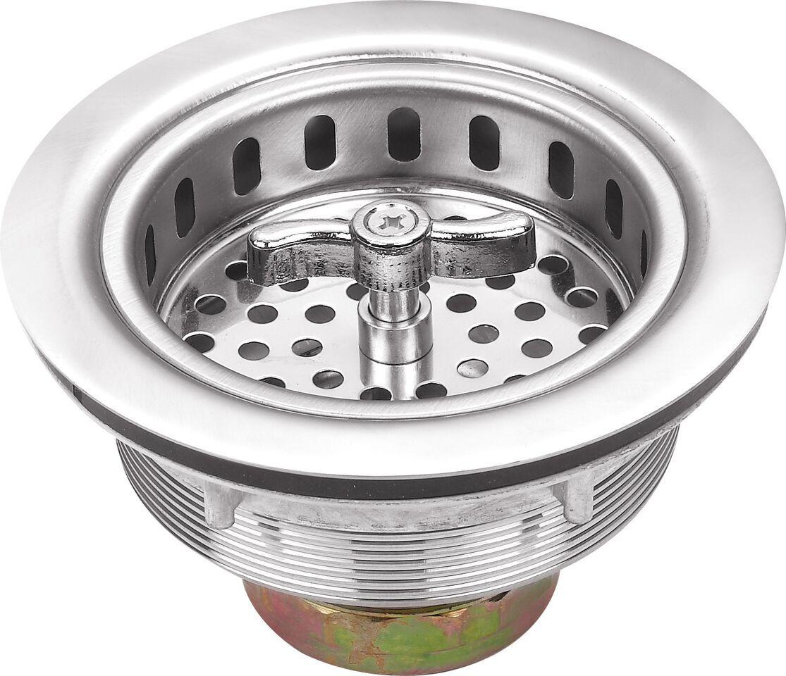Cahaba 3 1 2 In Stainless Steel Twist And Lock Strainer Basket Kit Composite Kitchen Sinks Sink Drain Outdoor Kitchen Sink