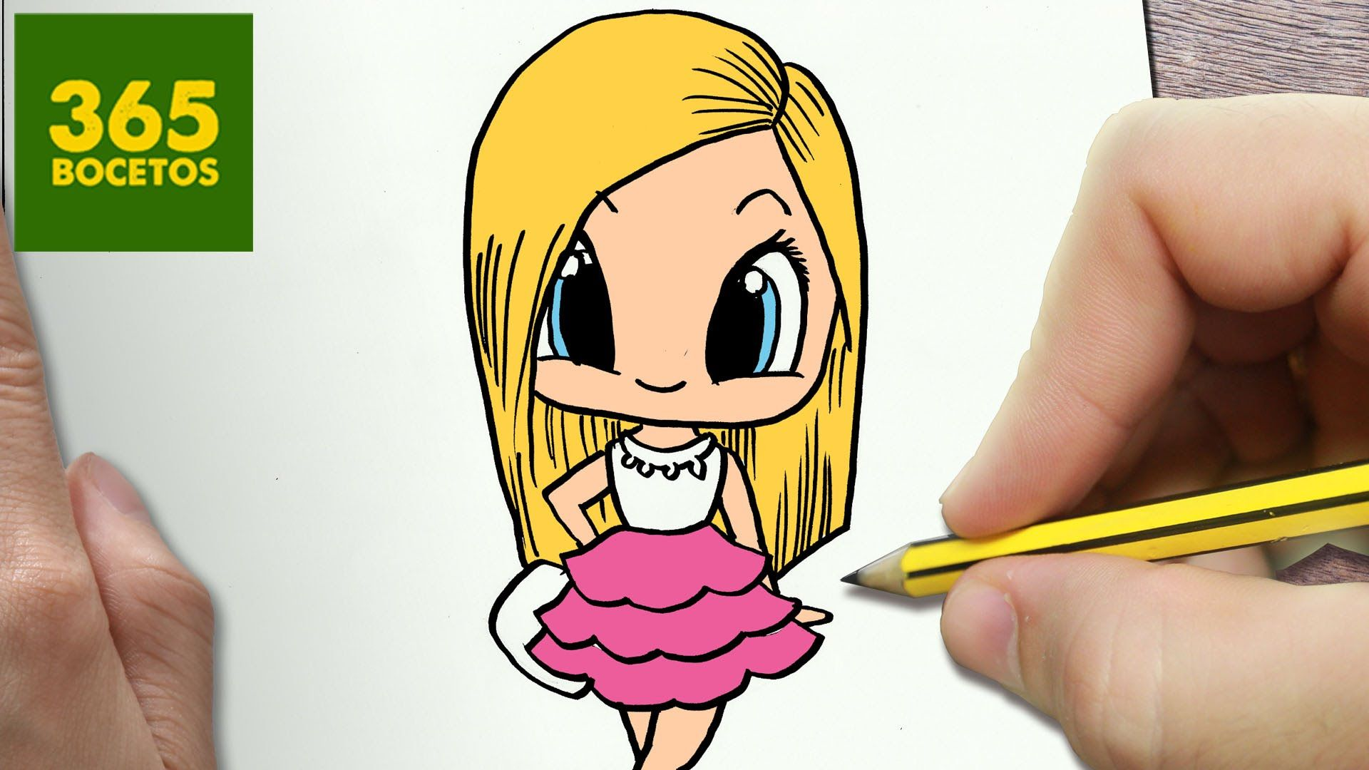 Como Dibujar Barbie Kawaii Paso A Paso Dibujos Kawaii Faciles How To Dibujos Kawaii Faciles Dibujos Kawaii Dibujos Kawaii 365