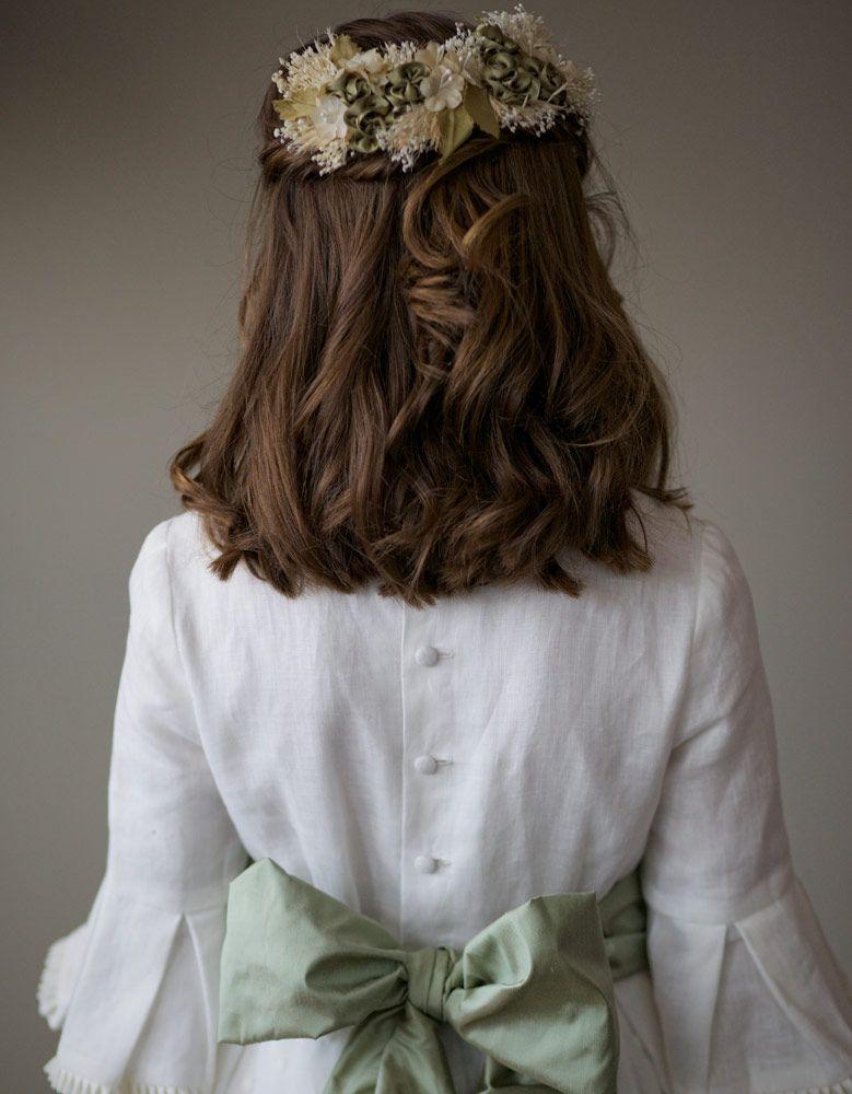 Cómo conseguir un peinados para niñas comunion Fotos de estilo de color de pelo - 18 peinados para hacer la Primera Comunión con los que tu ...